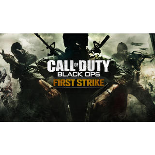 Call of Duty: Black Ops 1 BO1 First Strike DLC Map Pack PlayStation 3 PS3 CODE KEY | 🔑 INSTANT DELIVERY 🔑 |