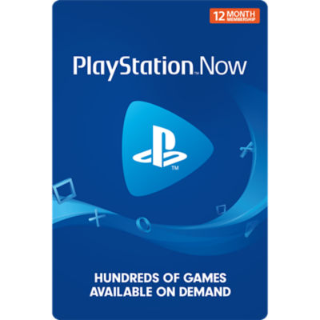 PlayStation Now 12 month subscription (INSTANT DELIVERY)