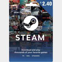 $2.40 Steam