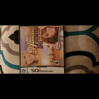 WALT DISNEY Hannah Montana The Movie