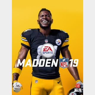 Madden NFL 19 (PS4) - PS4 / PSN CD-Key - [UNITED STATES / NORTH AMERICA] region [INSTANT DELIVERY] [RARE KEY]