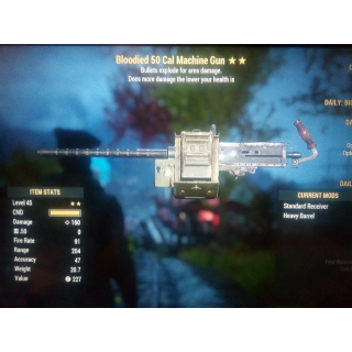 Weapon   Bloody EXP 50 cal 2star
