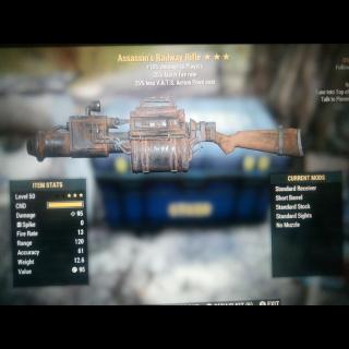 Weapon   Assassin's RailWay 50***