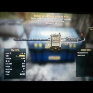 Weapon   Furious FFR 50 cal ***