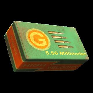 Ammo   50k 5.56 rounds