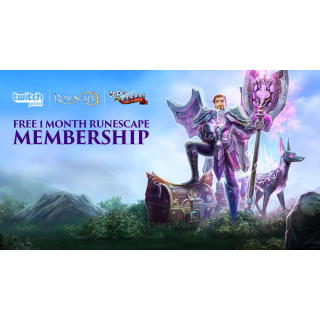 Oldschool Runescape Get a free month of membership