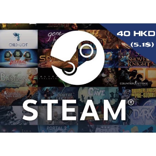 $5.10 Steam wallet GLOBAL-INSTANT