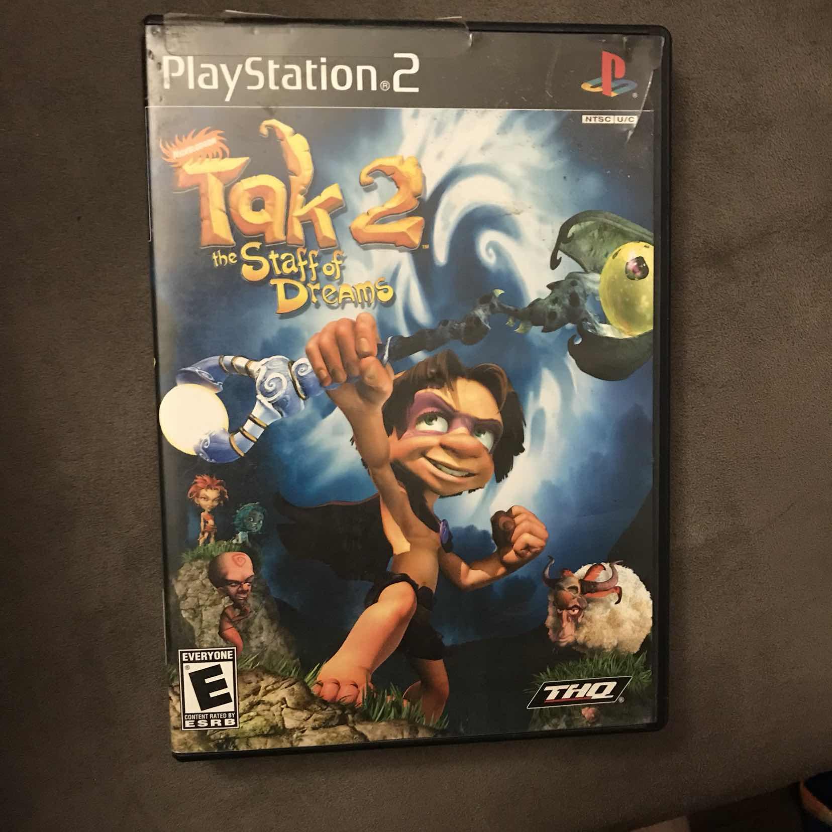 Tak 2 staff of dreams - PS2 Games (Fair) - Gameflip