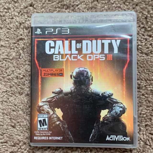 Call of duty black ops III - PS3 Games (Good) - Gameflip
