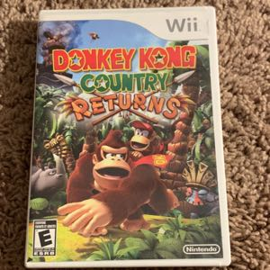 Donkey Kong Country Returns and road rash