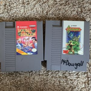 Double dragon and castlevania