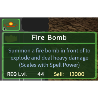 Gear Dq Fire Bomb In Game Items Gameflip