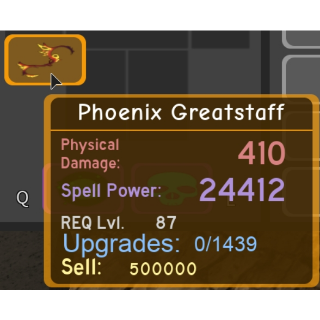 Gear   DQ - Phoenix Greatstaff