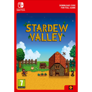 [NA] Stardew Valley- Nintendo Switch - Digital Game