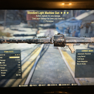 Weapon | BE lmg