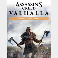 Assassin's Creed Valhalla: Gold Edition (US REGION)
