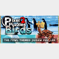 💥𝕴𝖓𝖘𝖙𝖆𝖓𝖙 𝕯𝖊𝖑𝖎𝖛𝖊𝖗𝖞💥Pixel Puzzles 2 Birds GLOBAL Key🔑