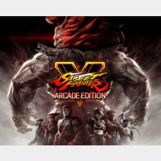 Street Fighter V Season 1 and Season 2 Character Pass Playstation 4