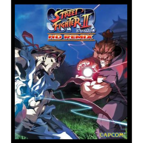 Super Street Fighter 2 Turbo HD Remix PlayStation 3 - PS3