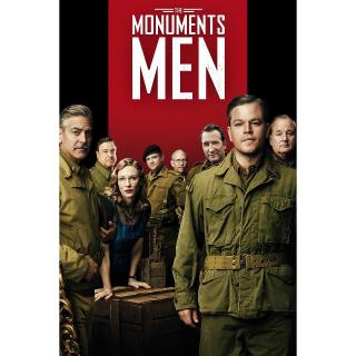 The Monuments Men Digital HD UV