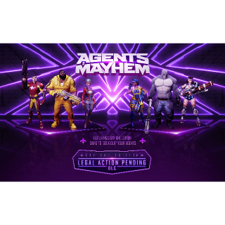 Agents of Mayhem Legal Action Pending DLC Playstation 4