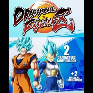 Dragonball Fighter Z Unlock SSGSS Goku/Vegeta Early DLC Playstation 4