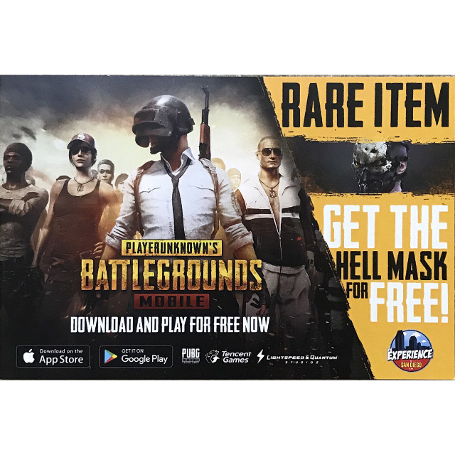 PUBG Playerunknown Battlegrounds Hell Mask MOBILE - Other