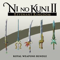 Ni no Kuni II: Revenant Kingdom Special Weapons Pack Playstation 4