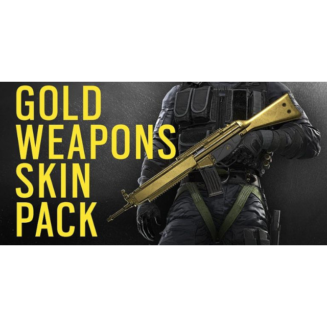 Tom Clancy's Rainbow Six Siege Gold Weapons Skin Pack DLC Playstation 4