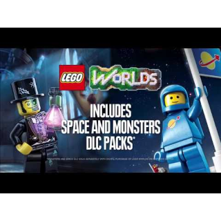Lego Worlds Bonus DLC Packs Nintendo Switch