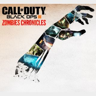 Call Of Duty Black Ops III Zombies Chronicles DLC Xbox One