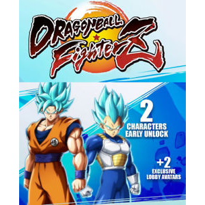 Dragonball Fighter Z Unlock SSGSS Goku/Vegeta Early DLC Xbox One