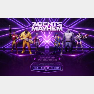 Agents of Mayhem Legal Action Pending DLC Xbox One