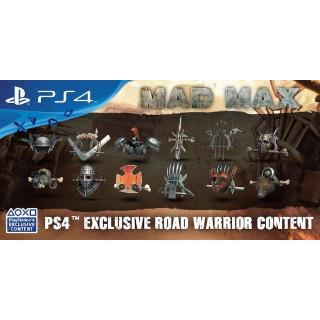 Mad Max Road Warrior Pack DLC Playstation 4 - PS4 Games