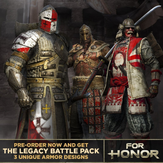 For Honor Legacy Battle Pack DLC Playstation 4