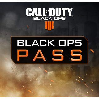 Call Of Duty: Black Ops 4 - Black Ops Pass PS4