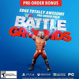 WWE Battlegrounds EDGE Totally Awesome DLC US PS4