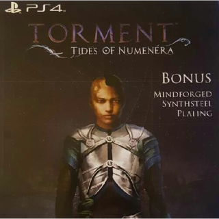"""Torment: Tides of Numenera """"Mindforged Synthsteel Plating"""" DLC (PS4)"""