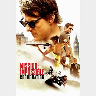 Mission: Impossible - Rogue Nation Digital HD
