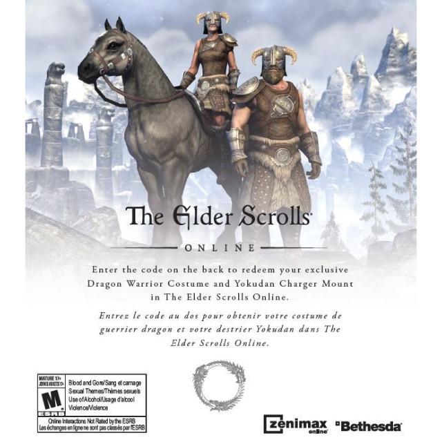 elder scrolls online dlc dragon warrior costume