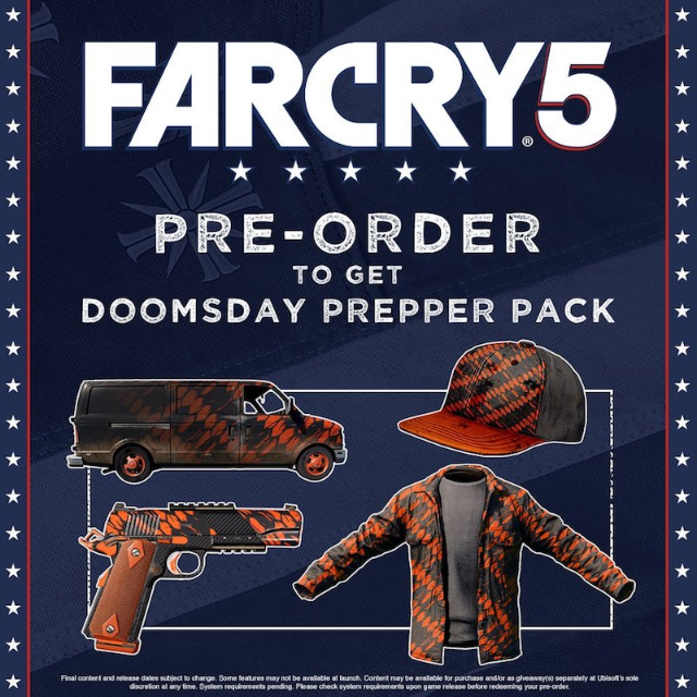 Farcry 5 Doomsday Prepper Pack Dlc Xbox One Xbox One