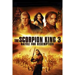 The Scorpion King 3: Battle for Redemption Digital HD UV