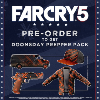FarCry 5 Doomsday Prepper Pack DLC Playstation 4