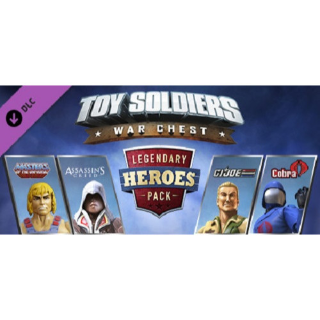 Toy Soldiers War Chest Legendary Heroes Pack DLC Xbox One