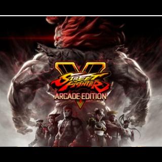 Street Fighter V Season 1 and Season 2 Character Pass Playstation 4