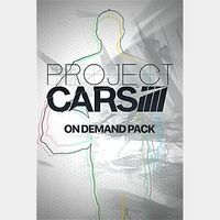 Project CARS - On Demand Pack DLC Playstation 4