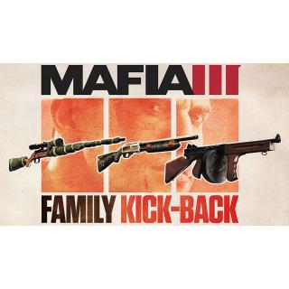 Mafia  3 III Family Kick-Back DLC Playstation 4