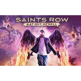 Saints Row Gat Out of Hell Playstation 4