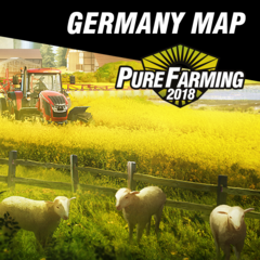 Pure Farming 2018 Germany Map & Linder Geotrac 134EP Vechicle DLC Playstation 4