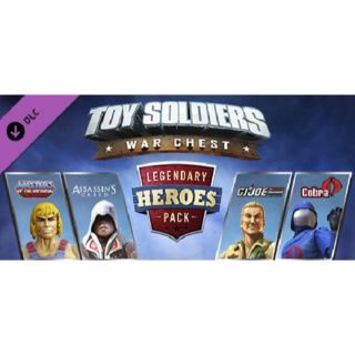 Toy Soldiers War Chest Legendary Heroes Pack DLC Playstation 4